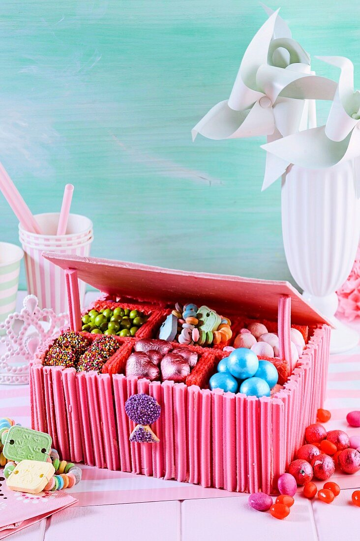 Secret lolly box