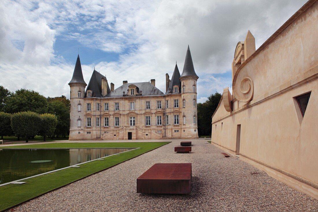 Chateau Pichon Longueville, Bordeaux, France