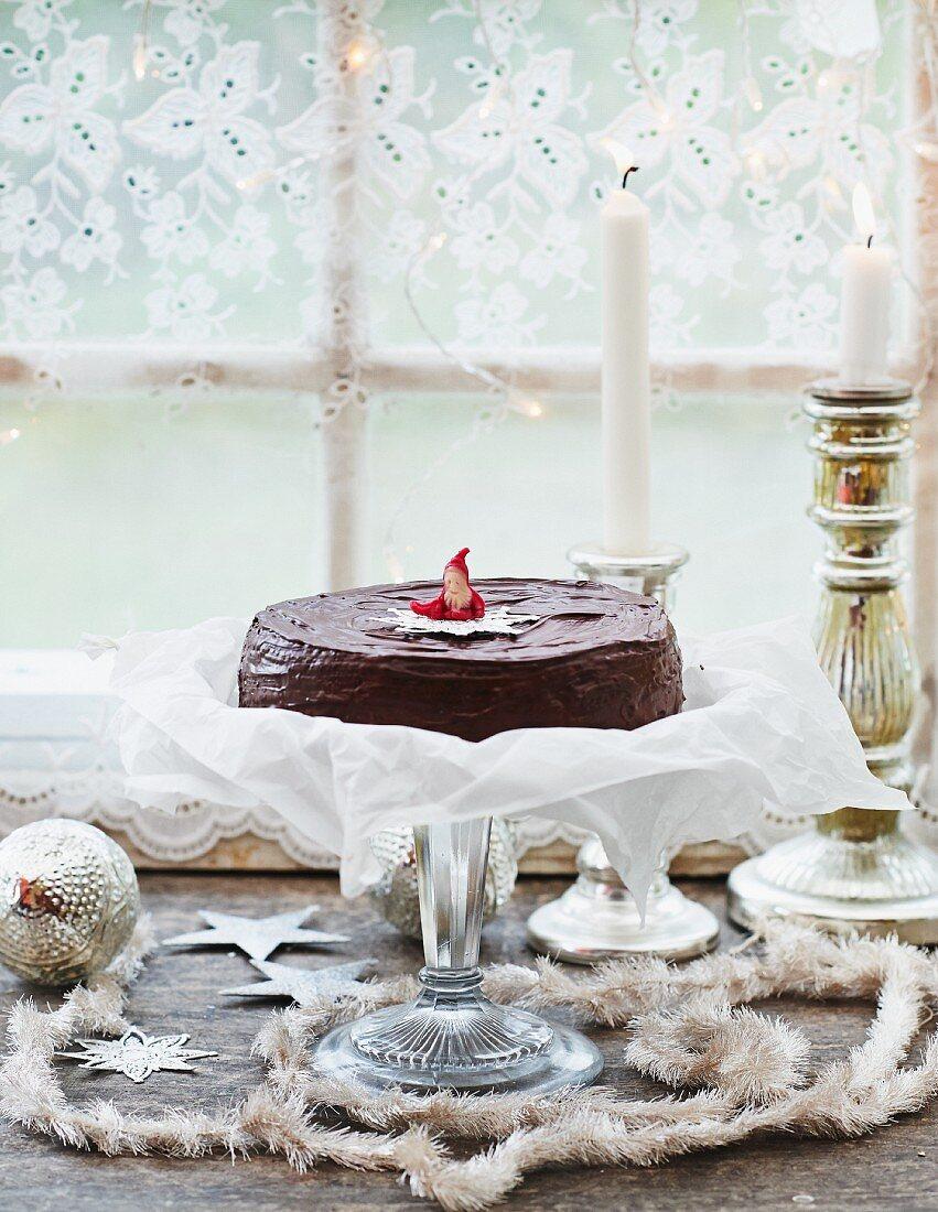 Baumkuchen (German layered cake)