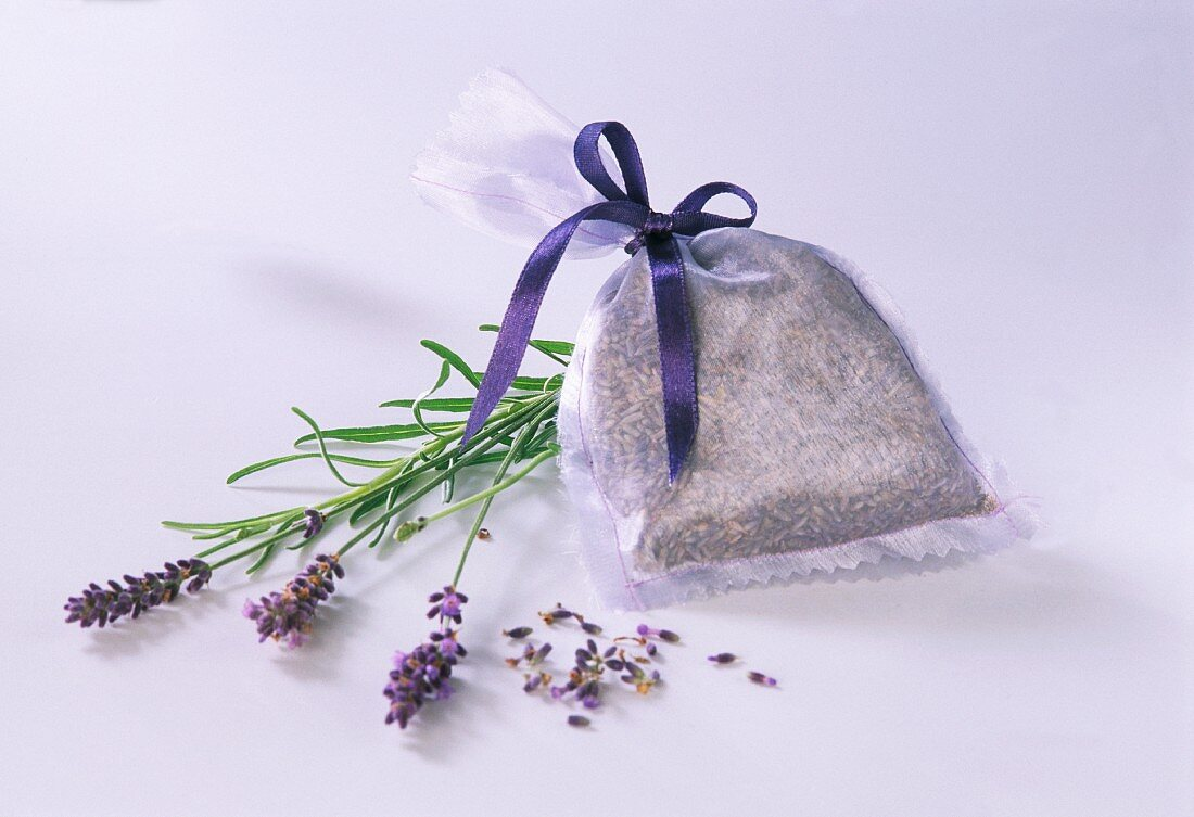 Pouches of lavender