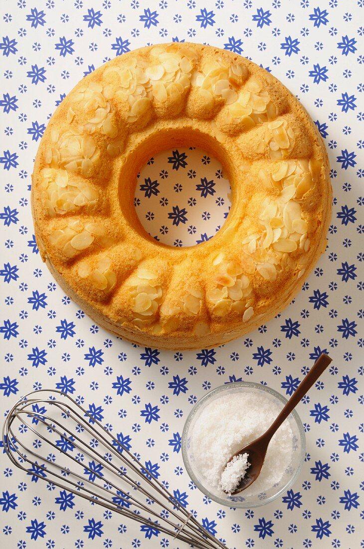 Savoy butter cake wreath