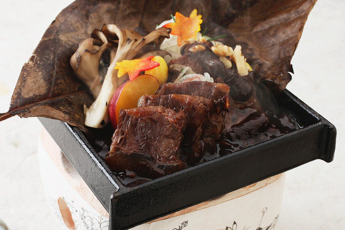Grilled, Japanese-style beef