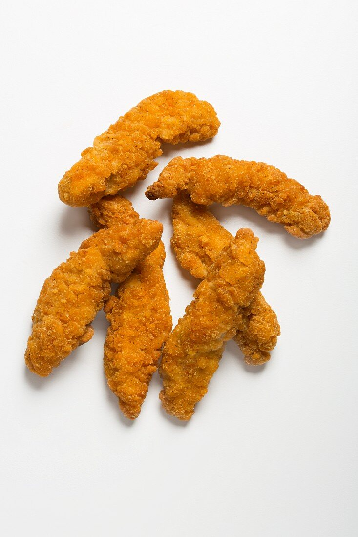 Crispy chicken goujons