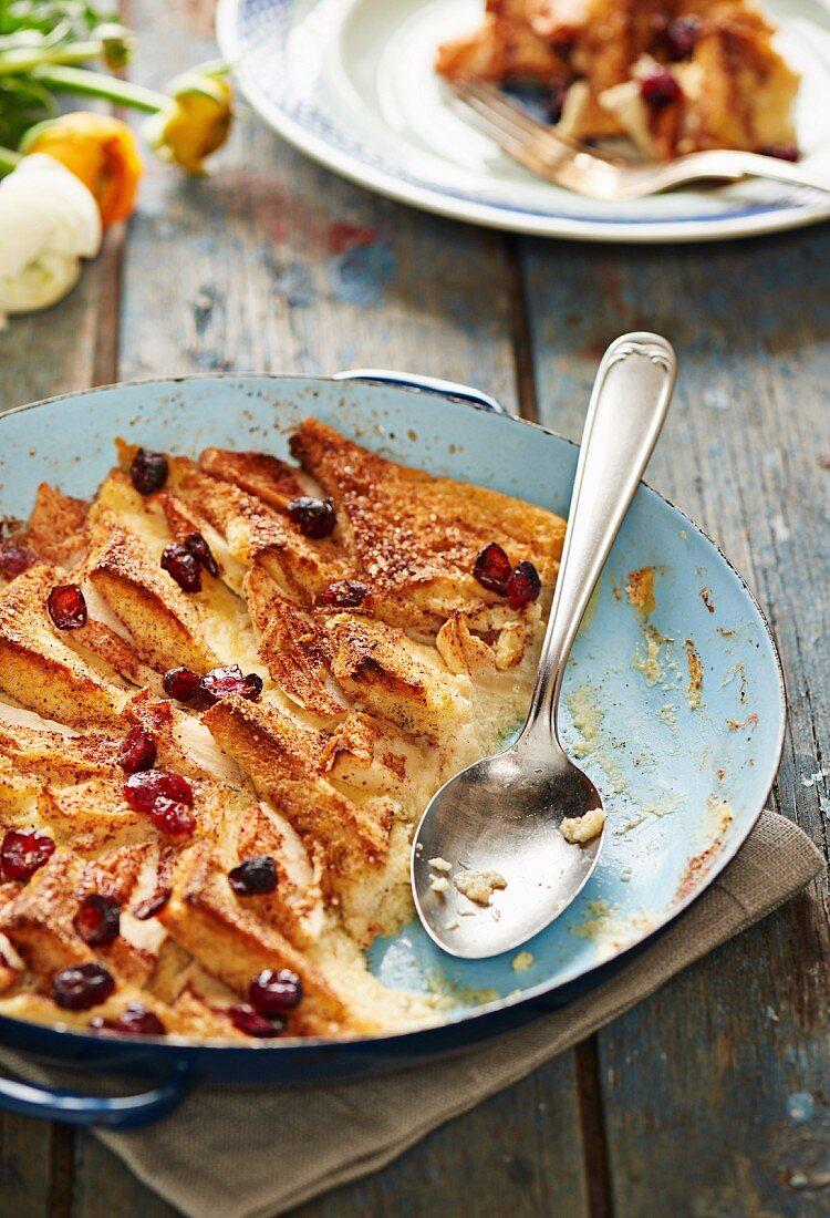 Apple Raisin Bread Pudding Image