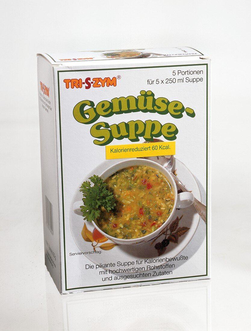 Low-calorie packet soup
