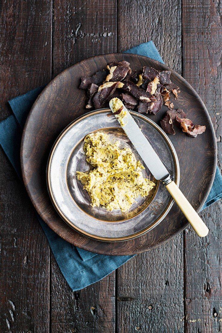 Biltong butter (South Africa)