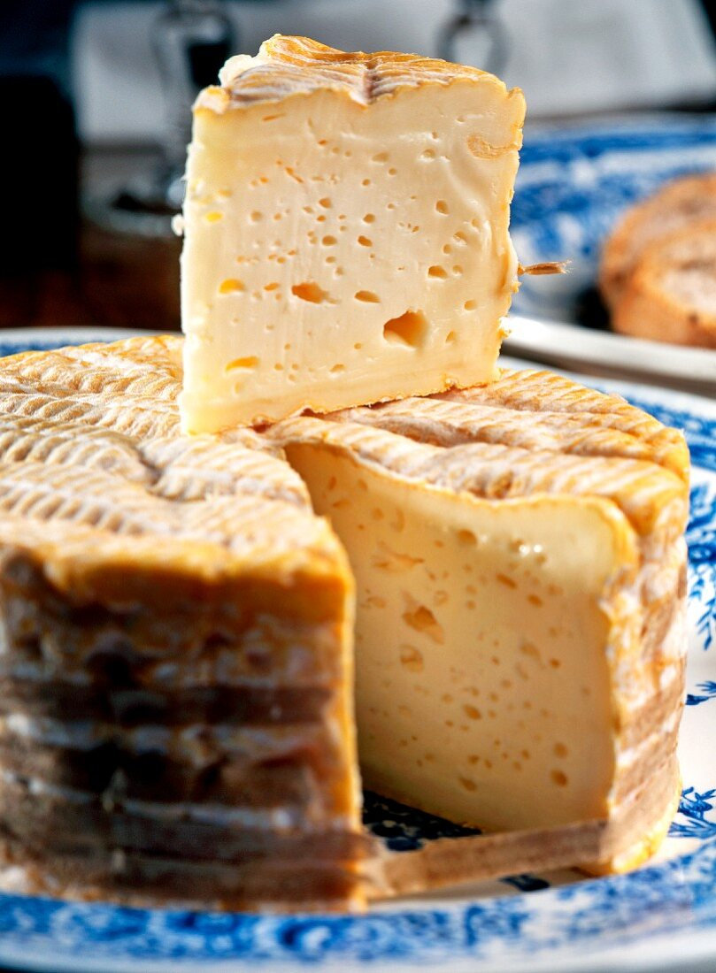 Livarot (soft cheese from Normandy, France)
