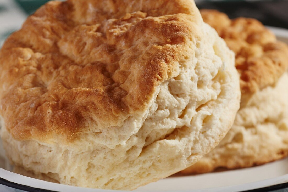 Traditional American scones (known as 'baking powder biscuits' in America)