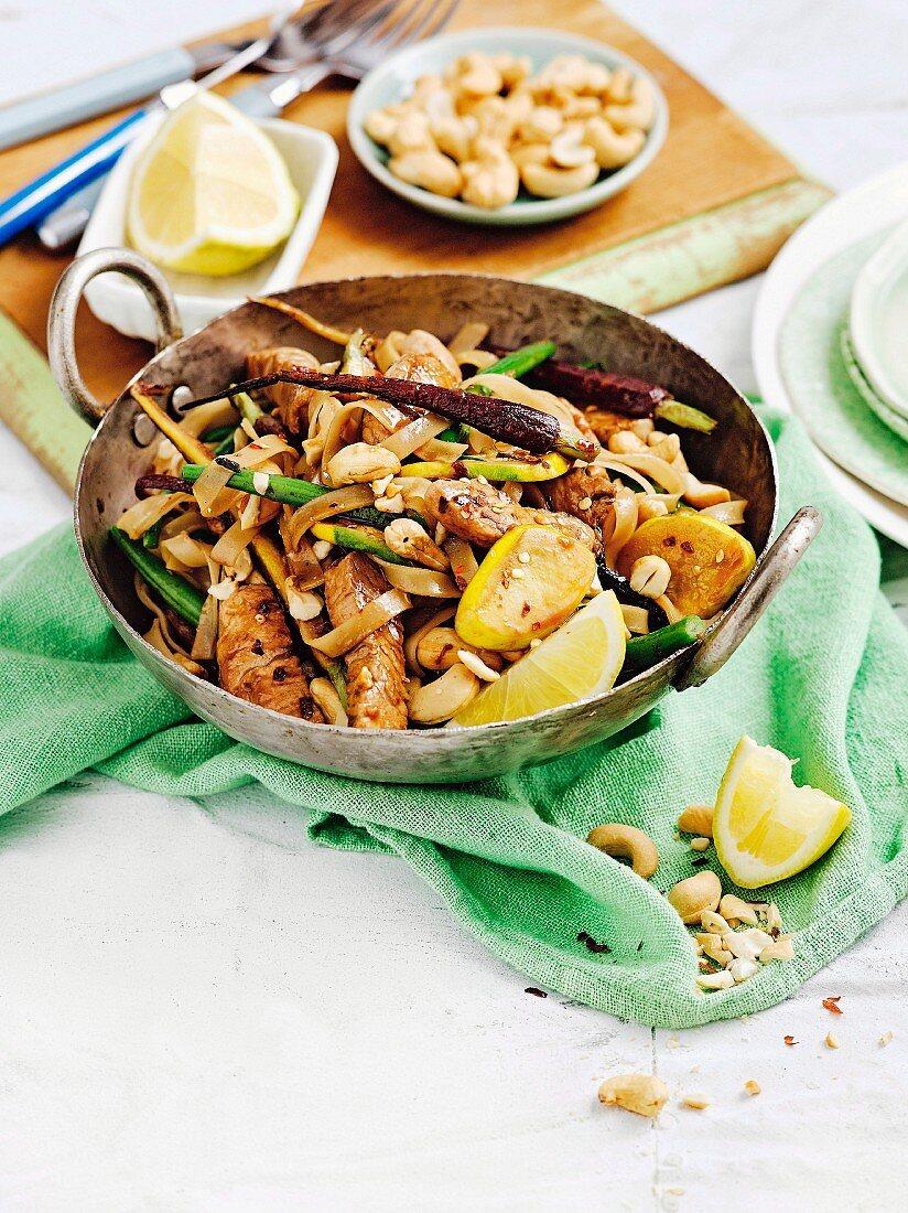 All new sizzling stir-fries - Chilli Turkey with Cashews