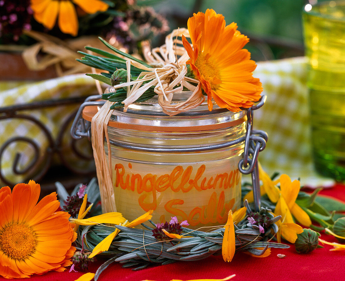 Make marigold ointment