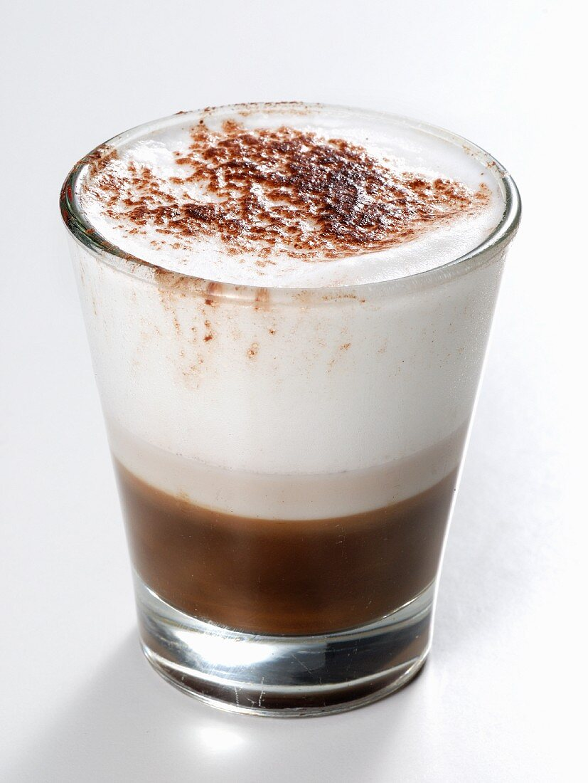 Marocchino (specialty coffee with espresso, chocolate and milk froth)