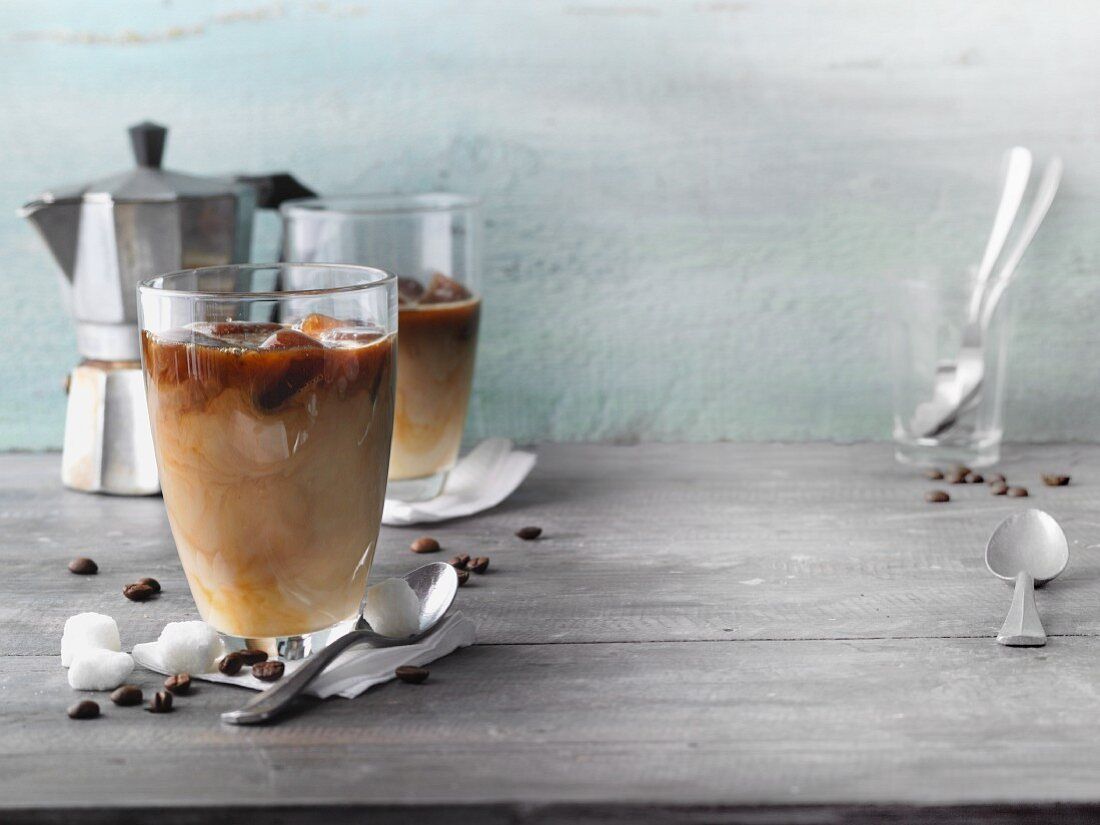 Eiskaffee 'Iced Coffee Kick'