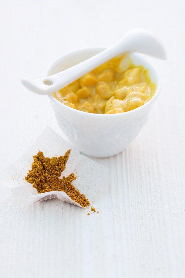 Curry-Mango-Mayonnaise