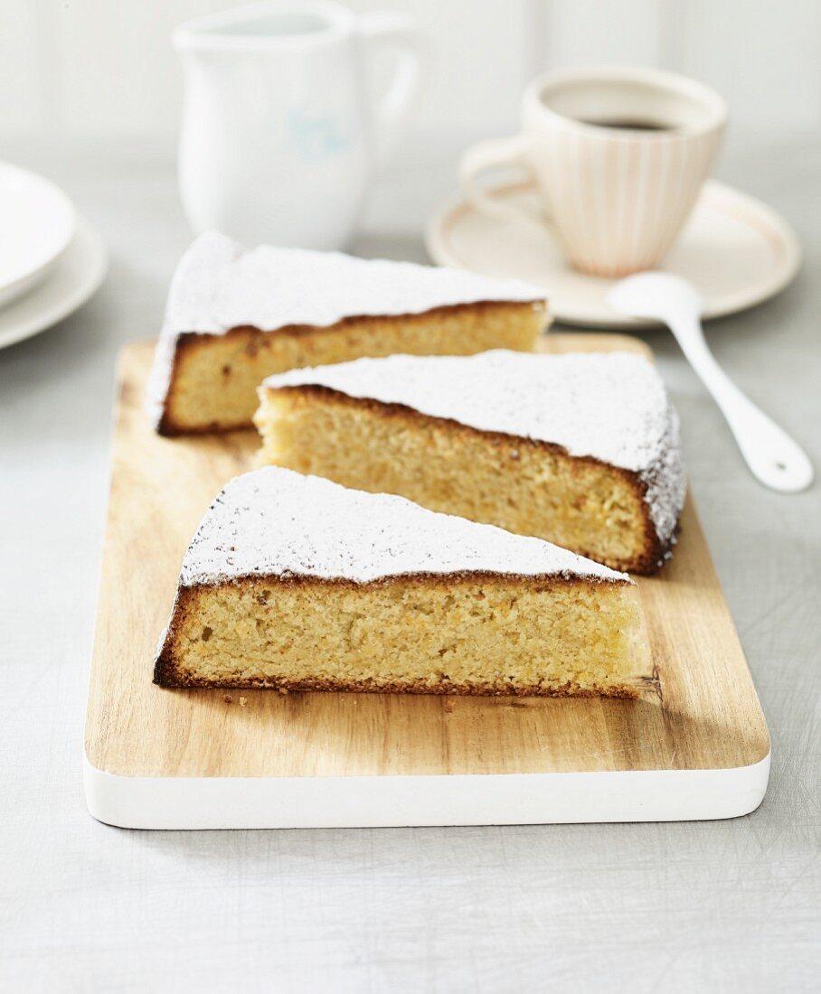 Mallorcan almond cake (lactose-free)