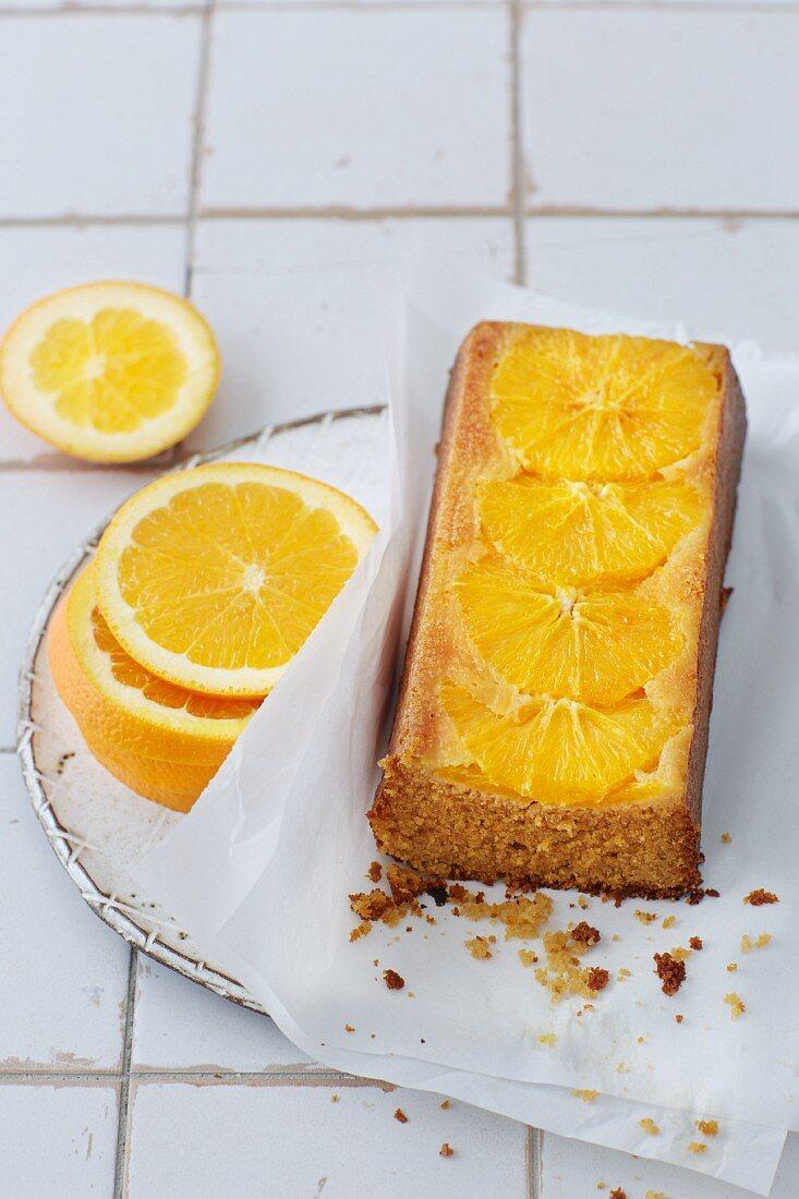 Sugar-free orange cake