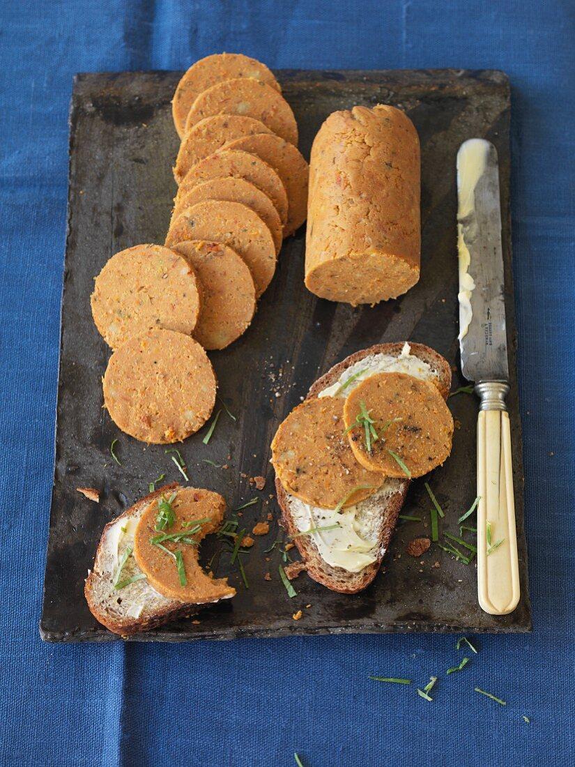 Spiced marjoram roll (vegan)