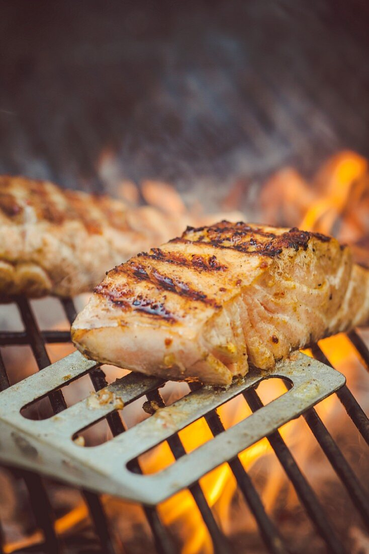 Salmon from the grill