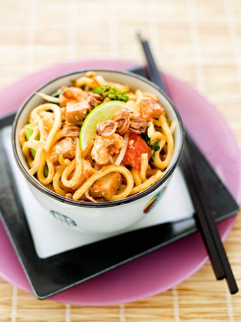 Stir-fried Vegetarian Mee Goreng