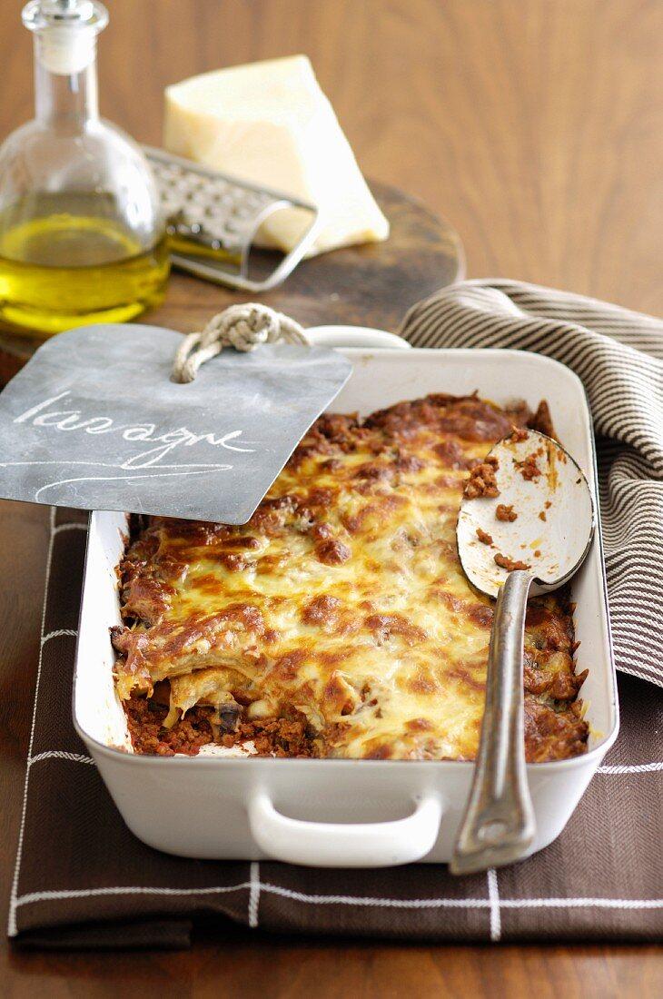 Beef and Eggplant Lasagne