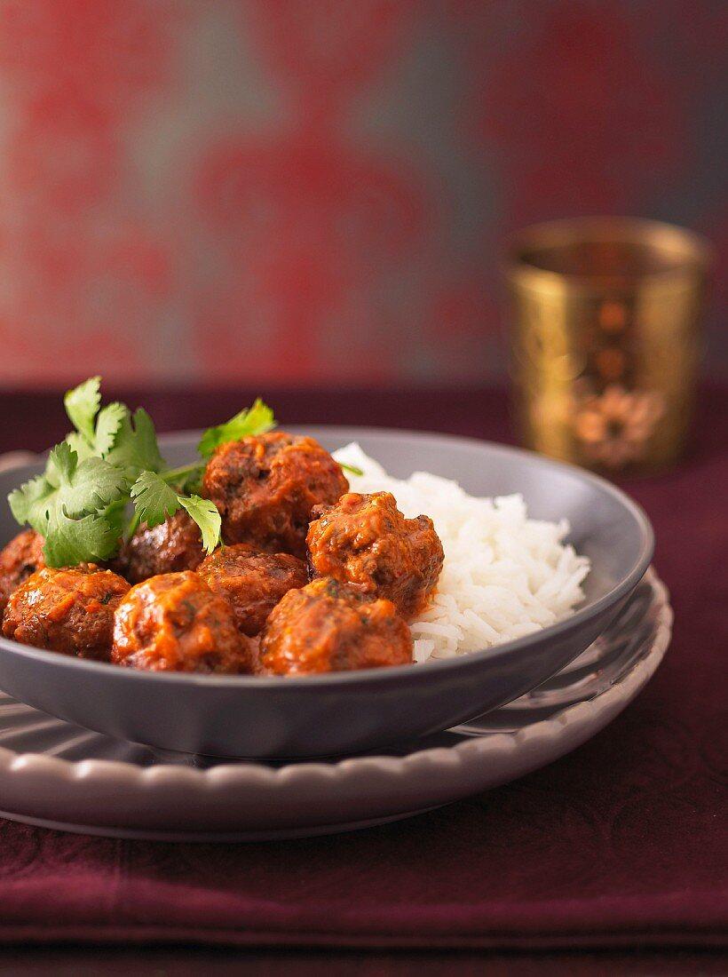 Indian Beef Kofta Curry