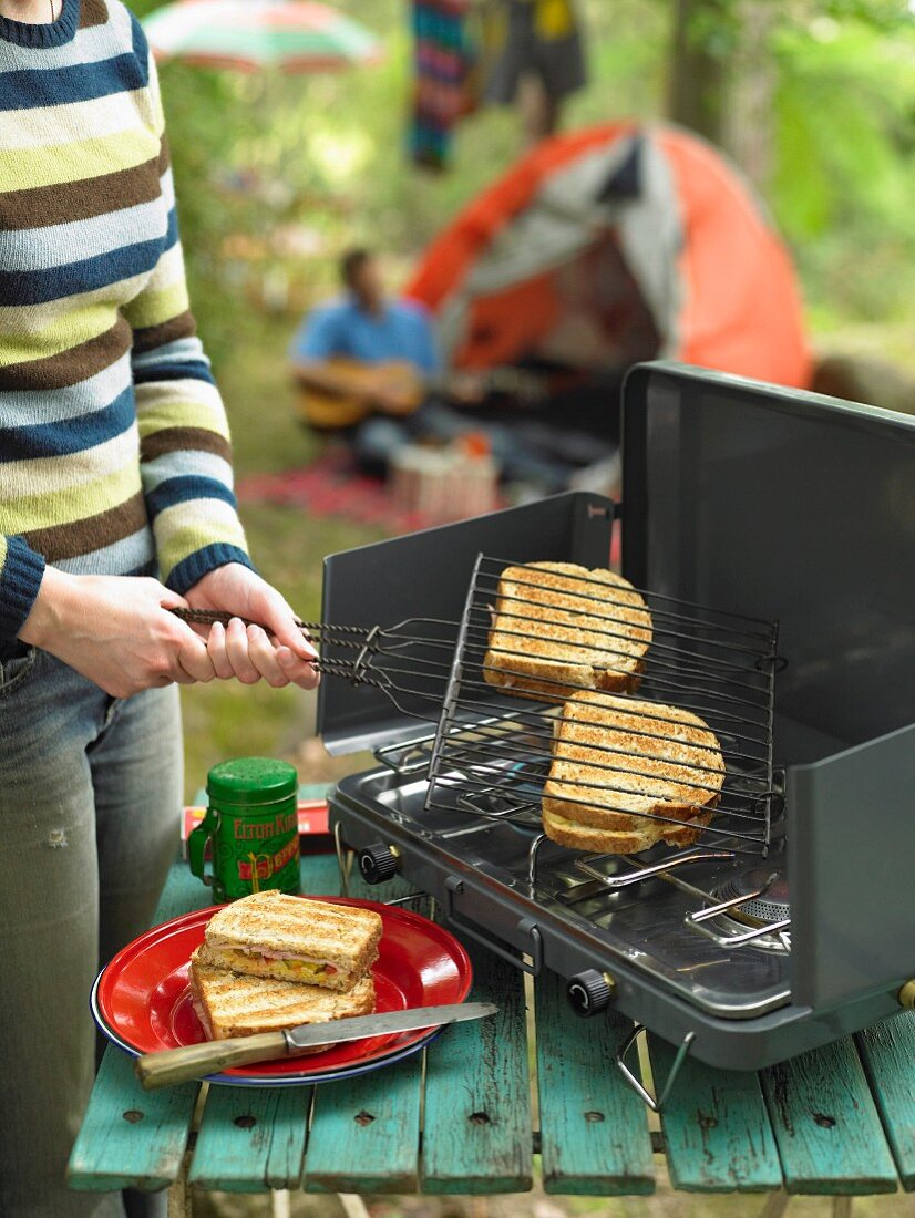 Camping Menu Toasted Sandwiches