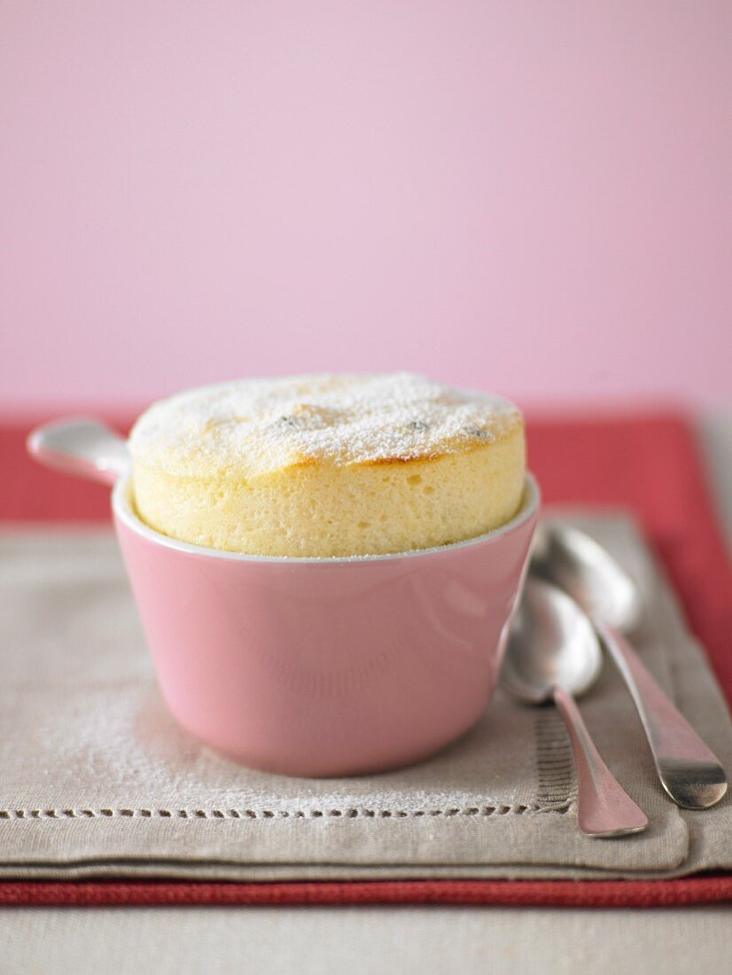 Easy Passionfruit Souffles
