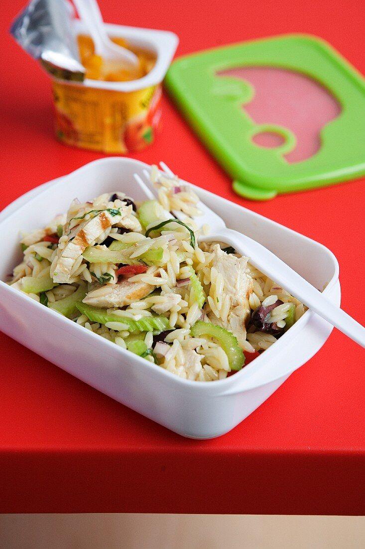 Grilled Chicken & Risoni Salad