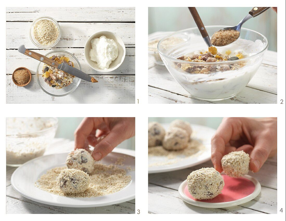 How to prepare muesli balls