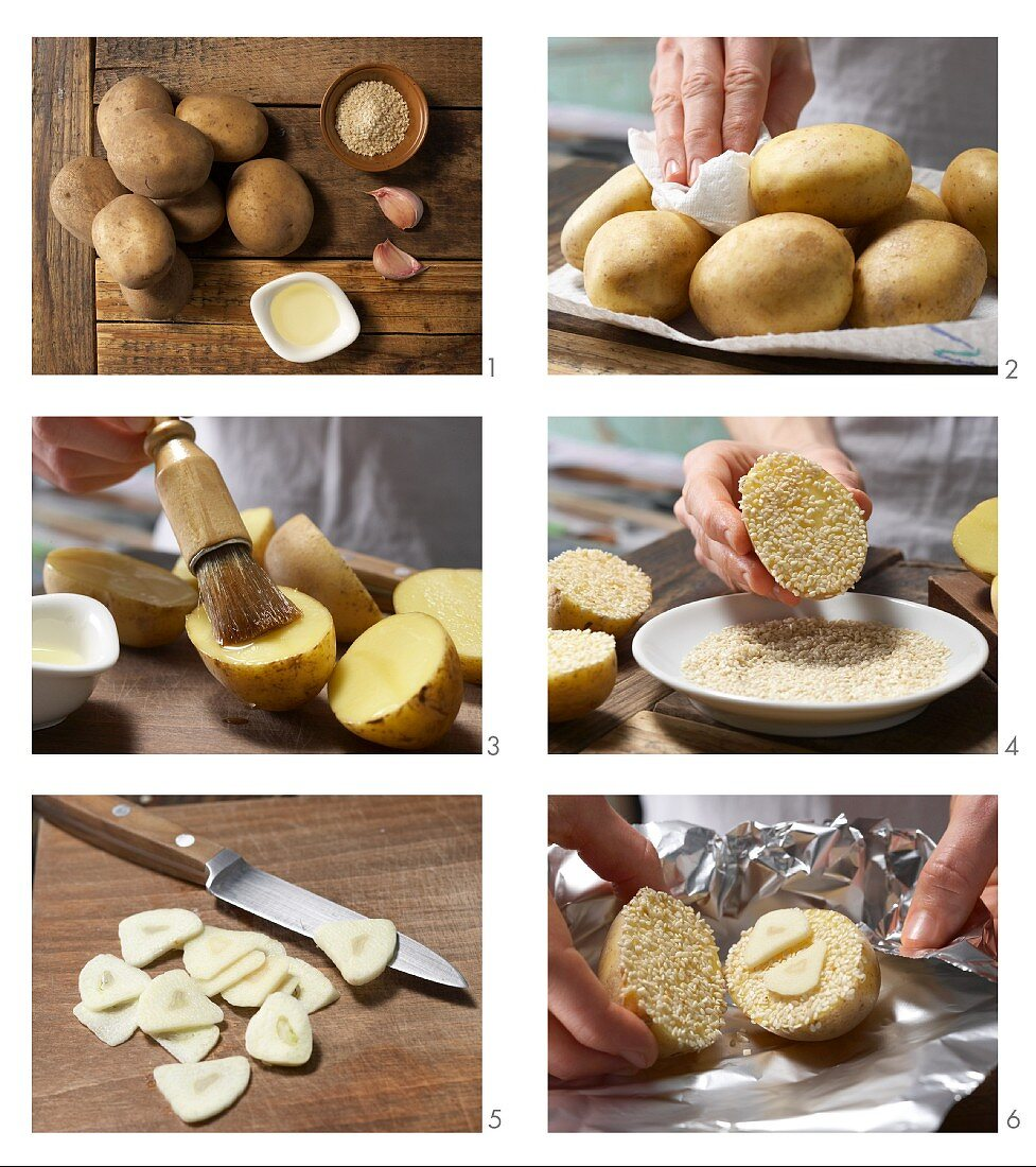 How to prepare grilled potatoes