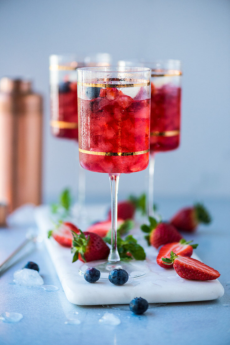 Berry Spritzer
