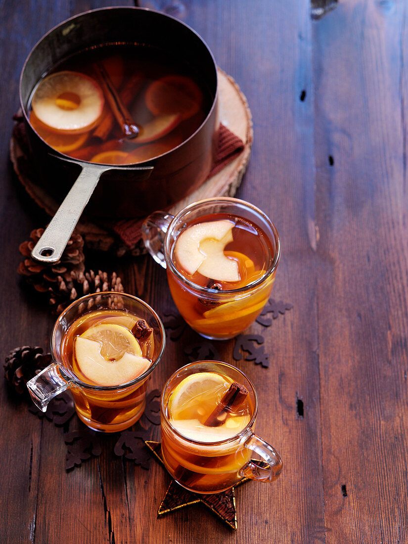 Spicy cider cocktails for Christmas