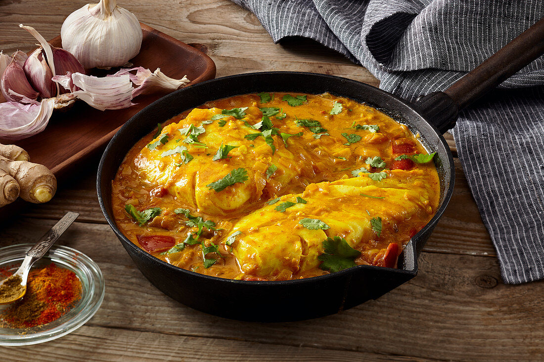 Fish curry from Kerala (India)