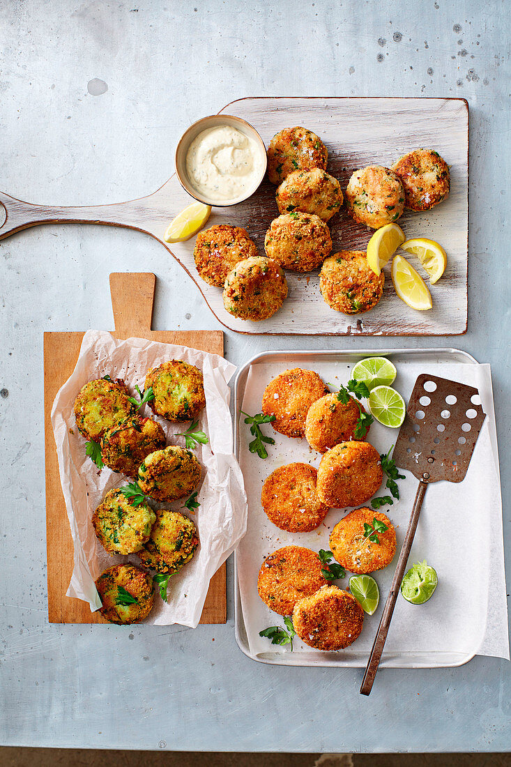 Various fritters