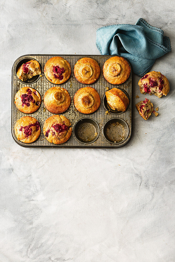 Zucchini slice muffins - coconut and raspberry banana bread muffins - Zucchini, carrot and honey muffins