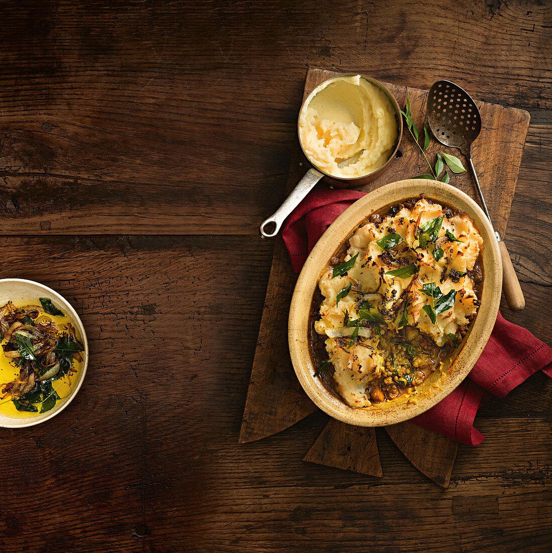Indian-Style Sheperd's Pie