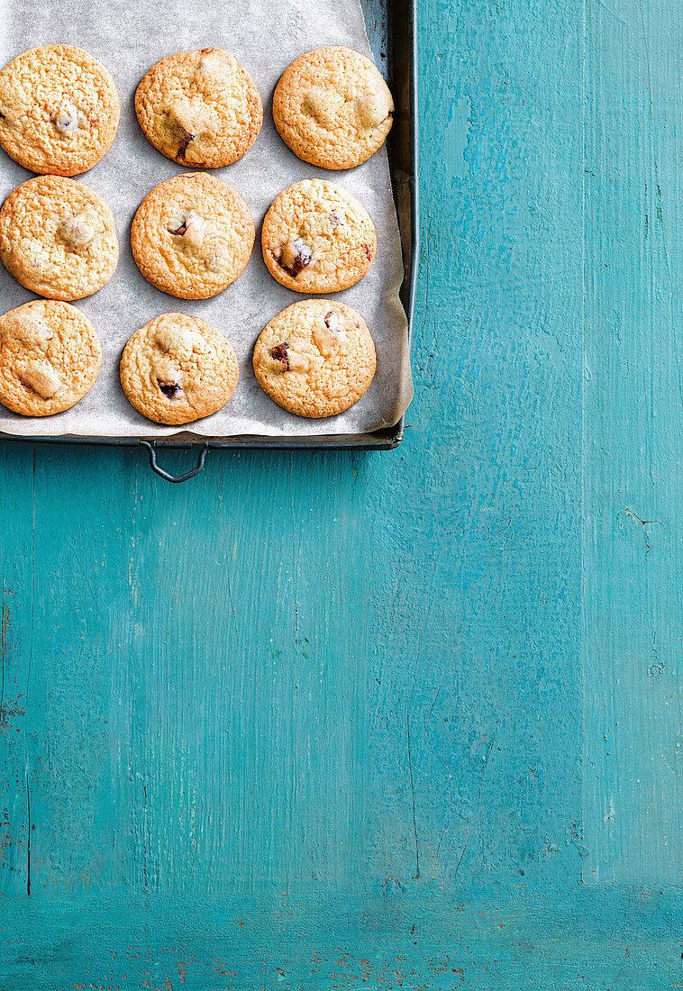 4-ingredient Turkish delight biscuits