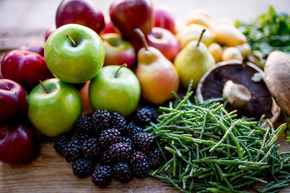 Autumn Fruit Vegetables