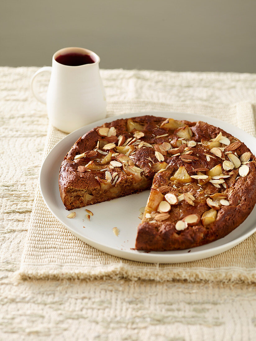 Almond and Pear Sweet Bread