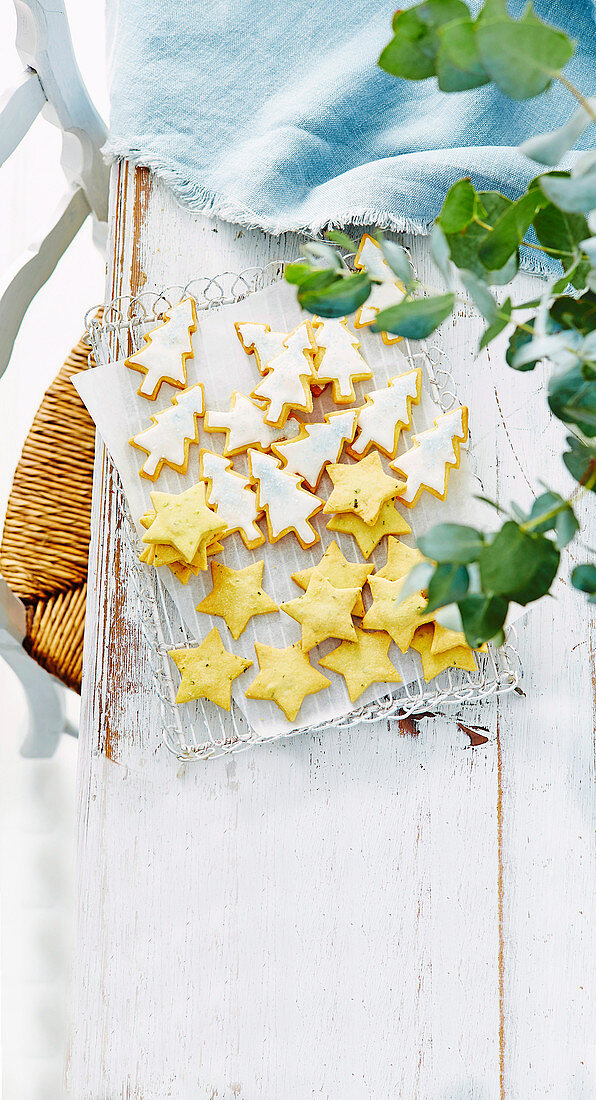 Shortbread Trees and stars