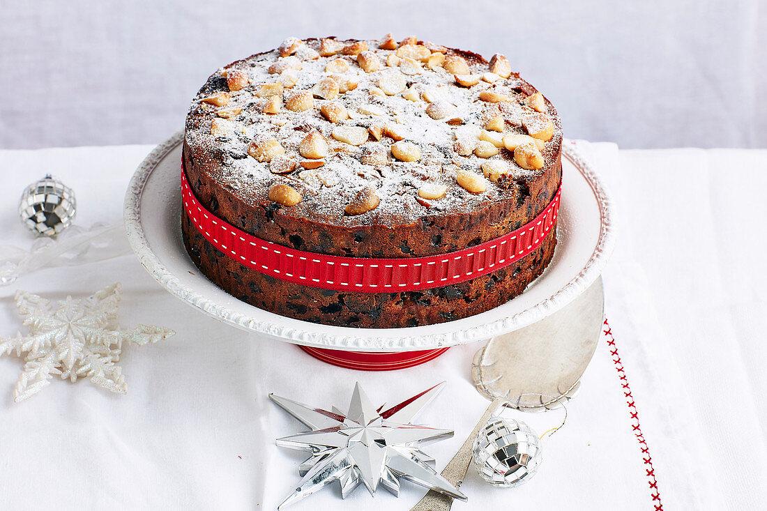 Christmas with Woman s Day - Take One Christmas Fruit Cake Mix.. - Orange & Dark Chocolate Christmas Cake