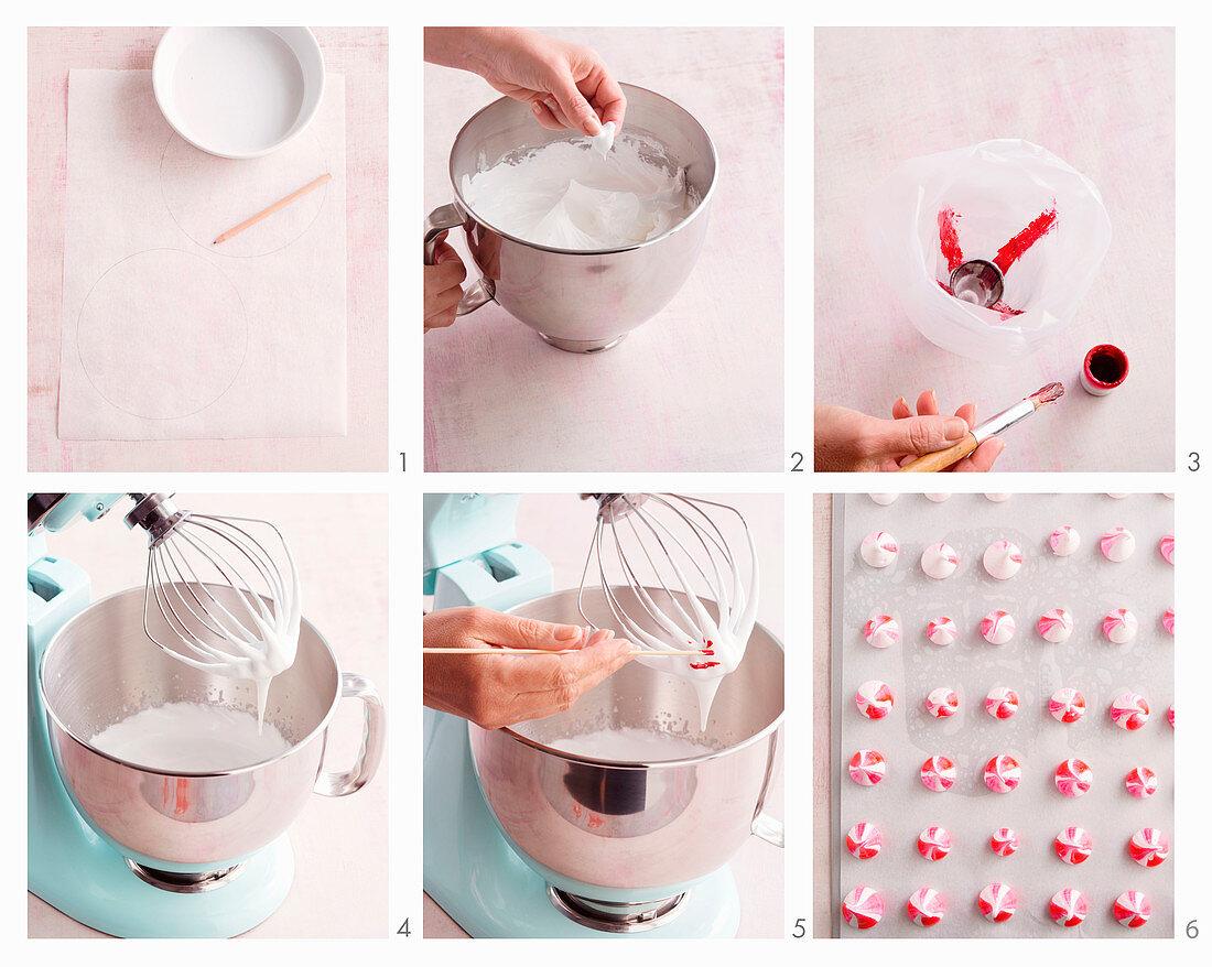 Preparing Iced Vovo Pavlova