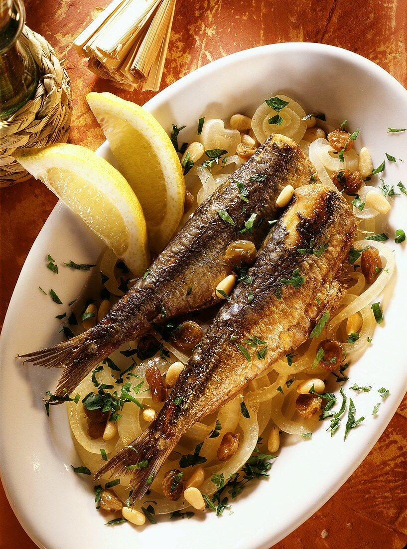 Sarde in saor (marinated sardines), Veneto, Italy