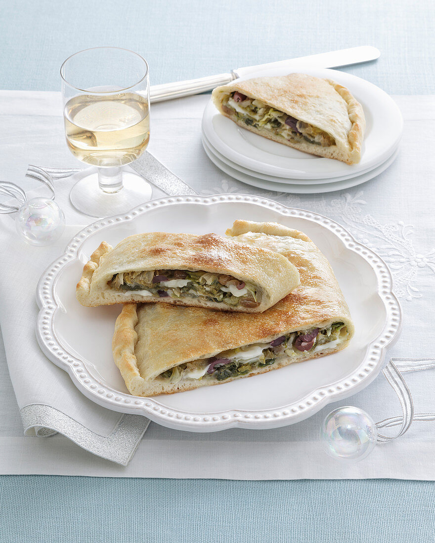 Endive and Scamorza Cheese Tart (Italy)