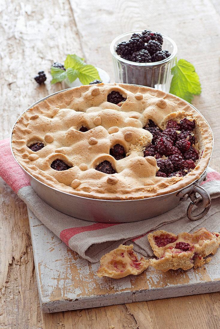 Spicy Blackberry Pie