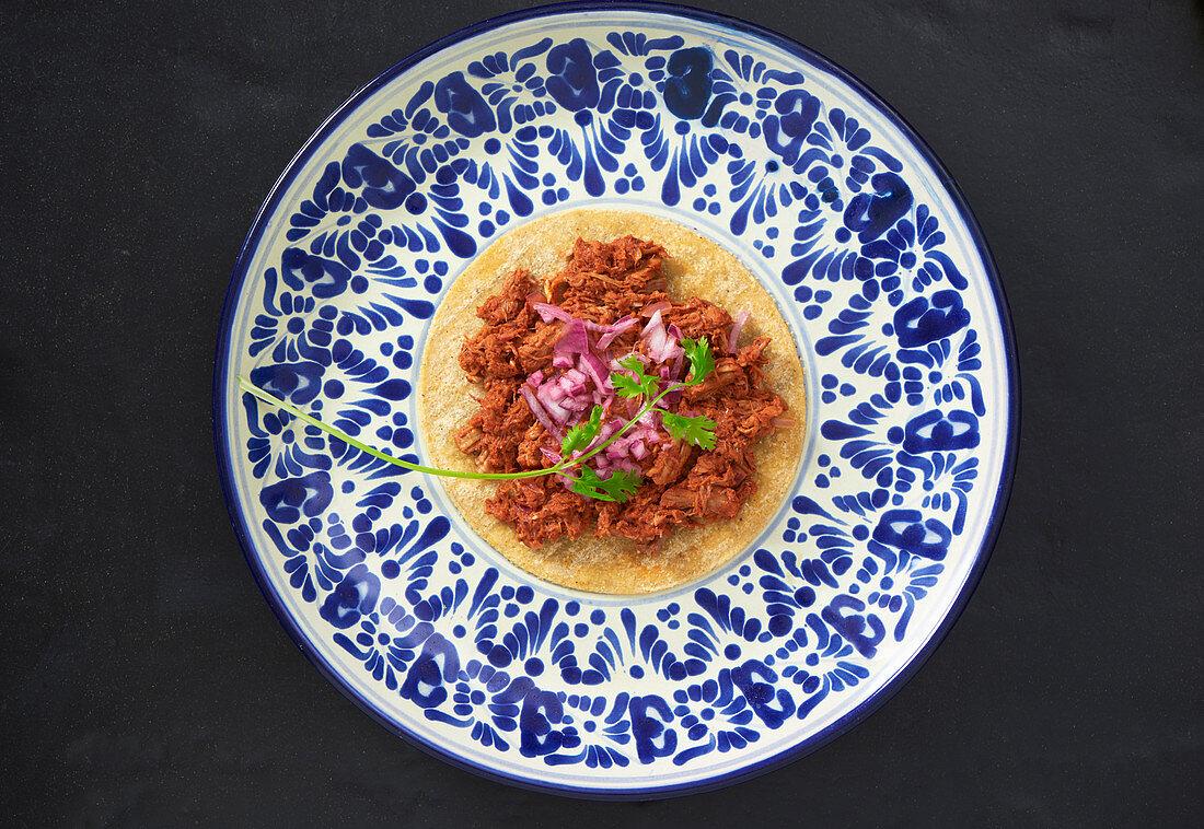Cochinita Pibil (Mexican pulled pork)