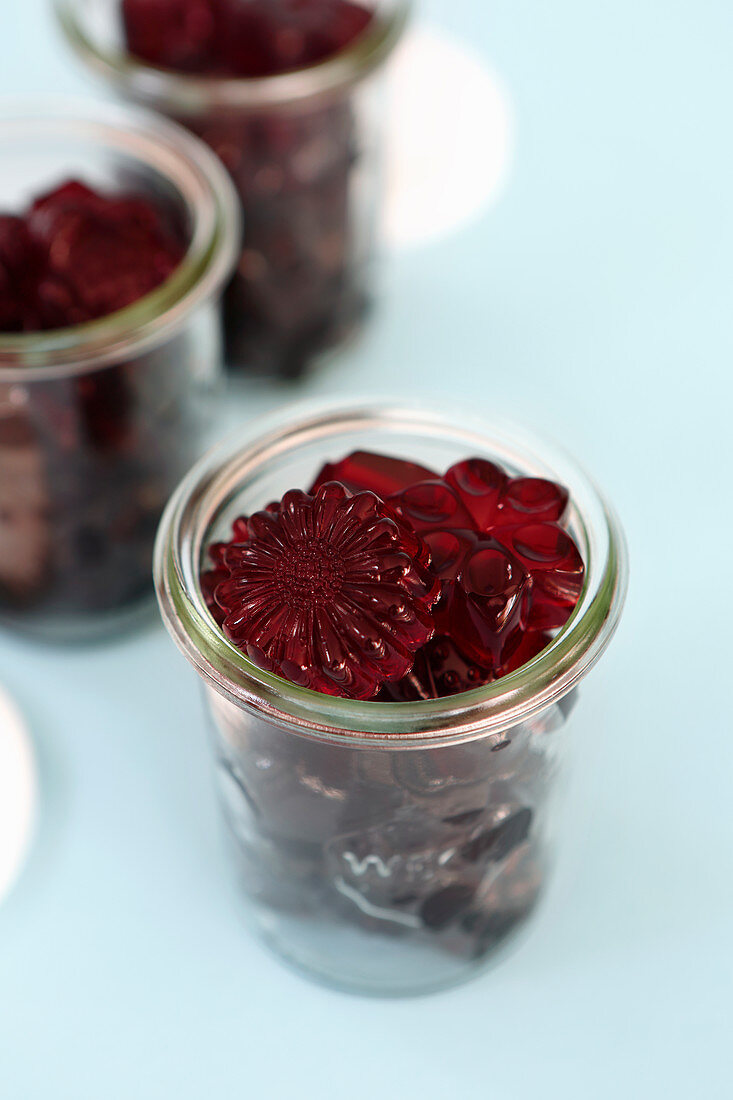 Homemade with elderberry cordial made from berries