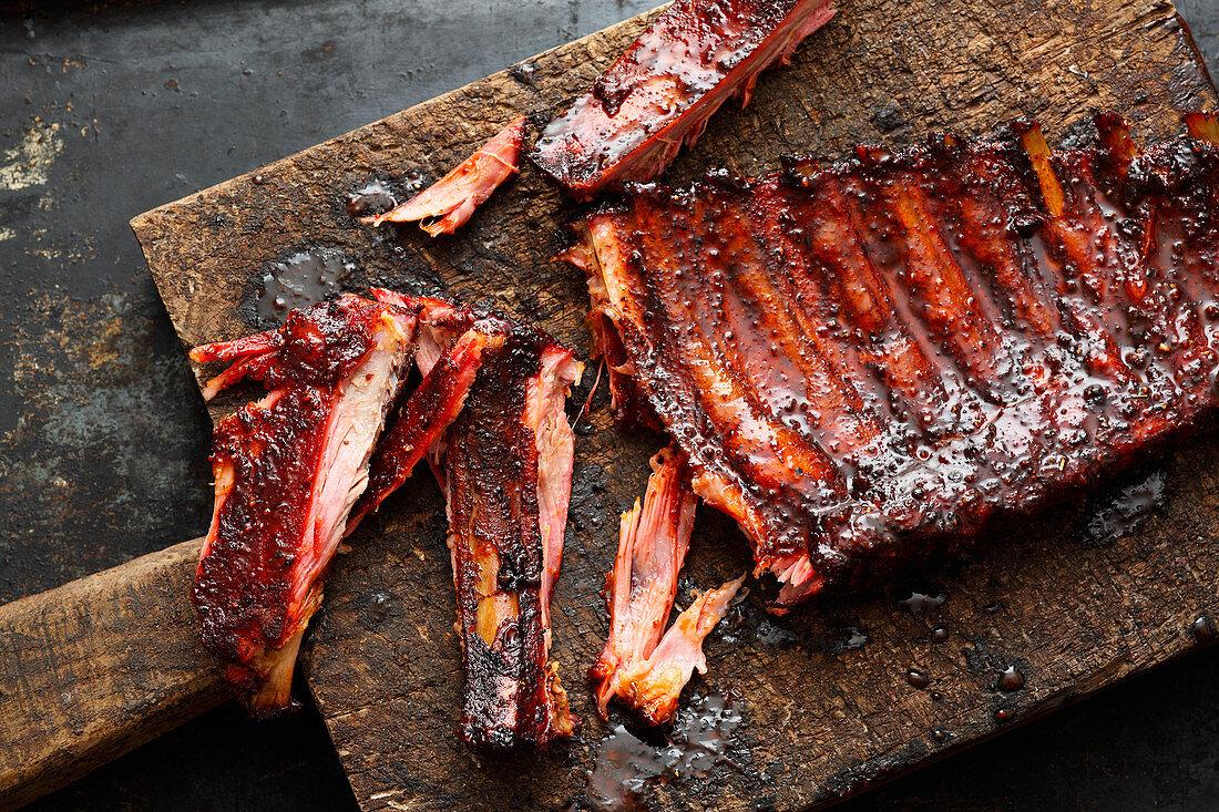 Glazed BBQ Spareribs