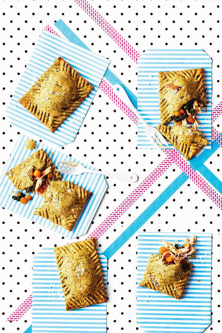 Lunch box chicken pop tarts