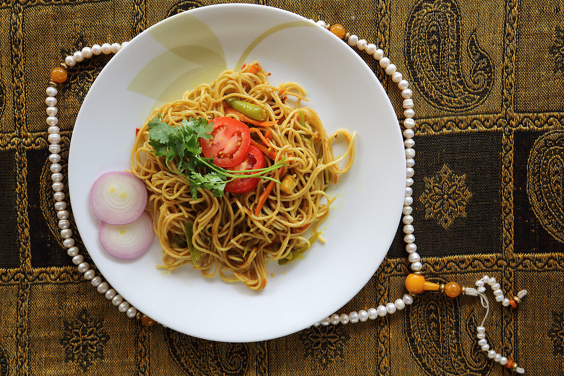 Chow Mein (fried noodles, China)