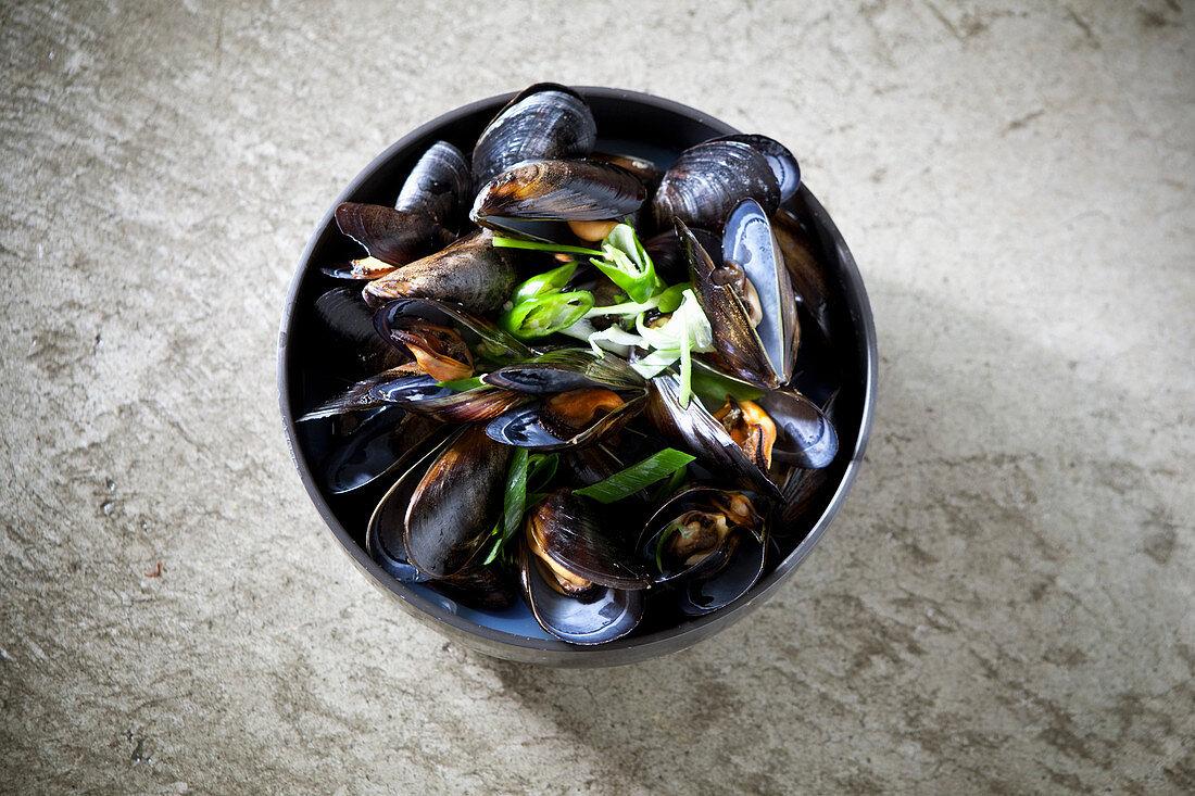 Mussel Soup (Korea)